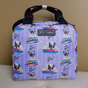 French Bulldog Insulated Lunch Bag Betsey Johnson